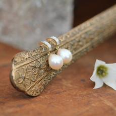 Gold Diamond Duchess Earrings