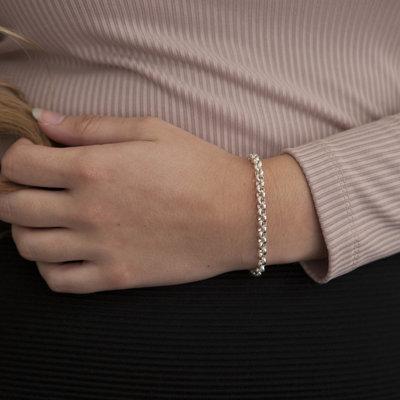 Joulberry Silver Kensington Bracelet