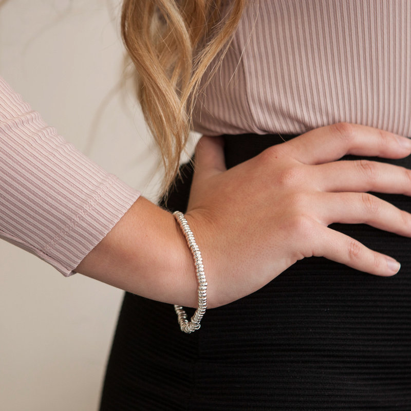 MADISON Silver Candy Chain Bracelet