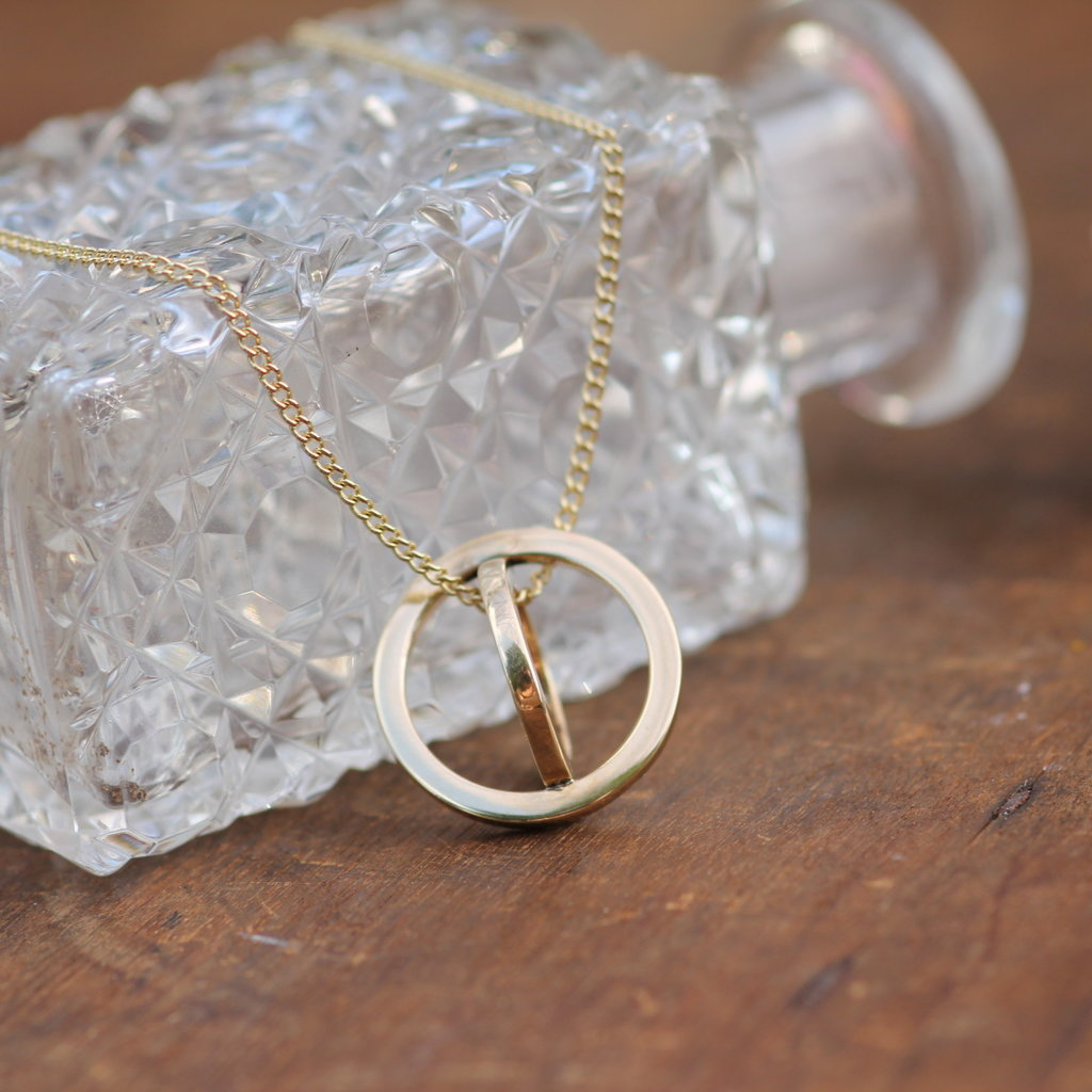 Joulberry Gold Sphere Necklace
