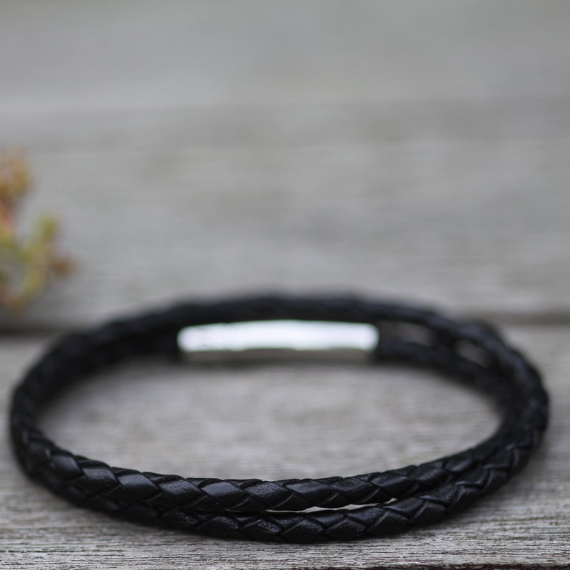METRO Aston Bracelet Black