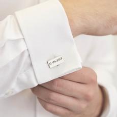 PERSONALISED Wedding Cufflinks