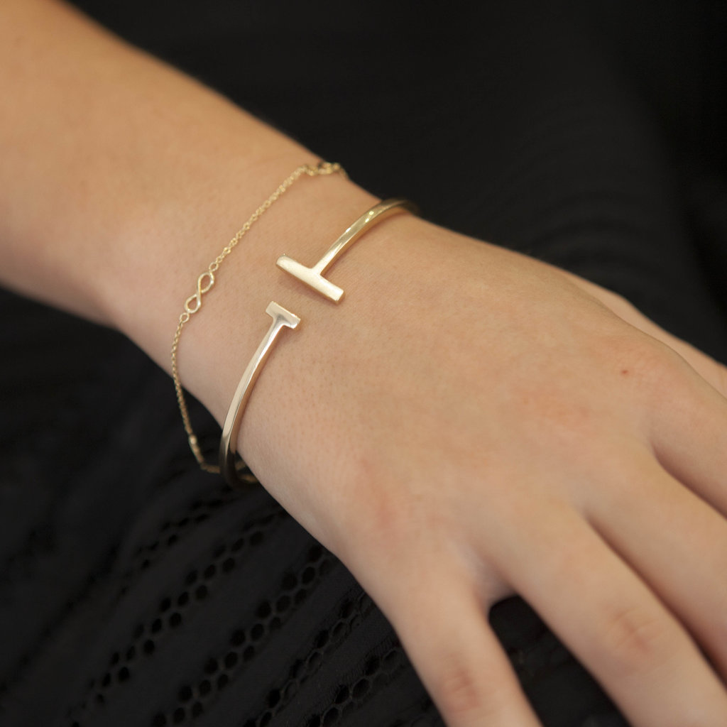 Joulberry Gold Scape Bangle