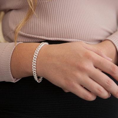 CASSIDY Silver Notting Hill Bracelet