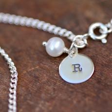 Joulberry Maiden Letter Bracelet