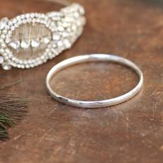 CASSIDY Silver Solar Bangle