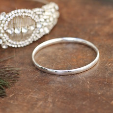 Joulberry Silver Solar Bangle