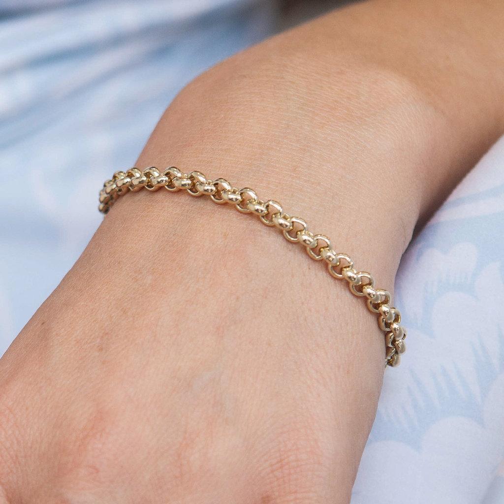 Gold Kensington Bracelet