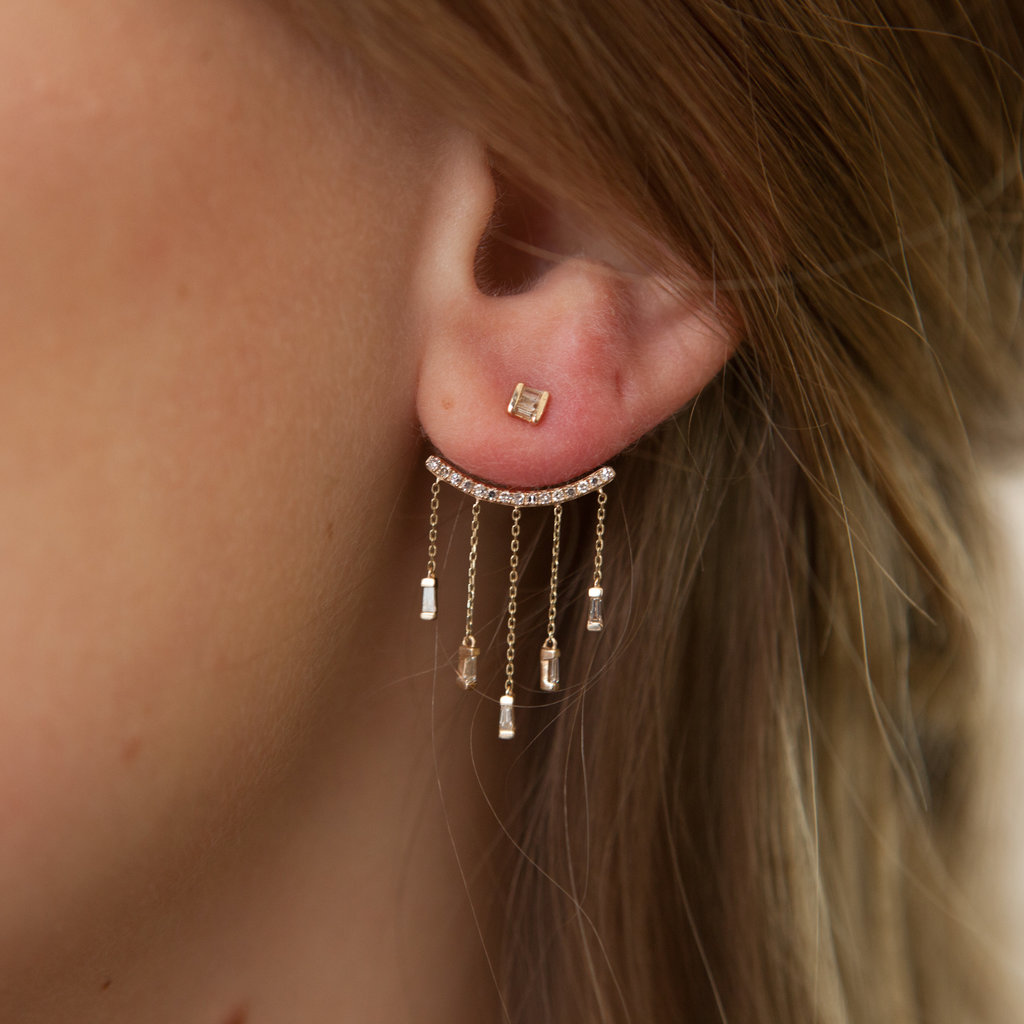 Joulberry Rose Chandelier Earrings