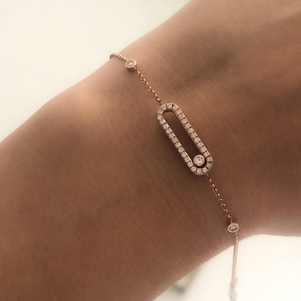 TATE Rose Sliding Diamond Bracelet