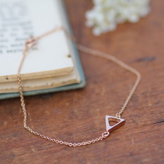 Rose Gold Geo Bracelet