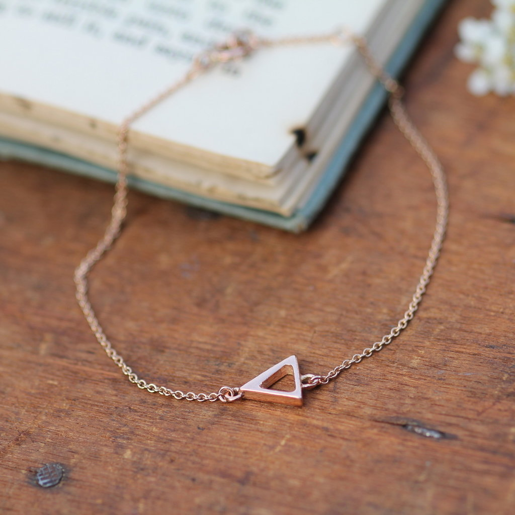 Joulberry Rose Gold Geo Bracelet