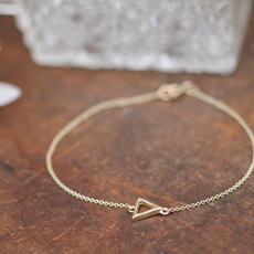 Joulberry Gold Geo Bracelet