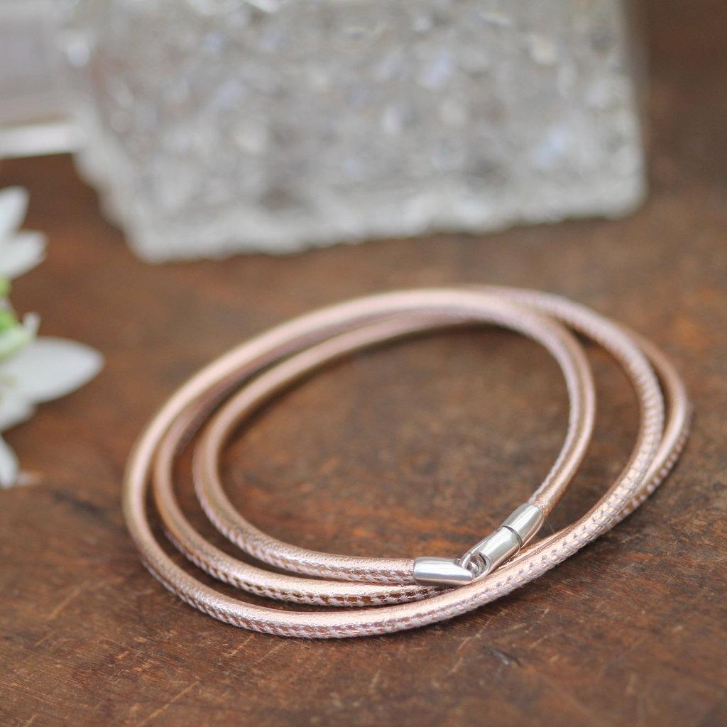 BOHO Rose Gold Bronte Bracelet