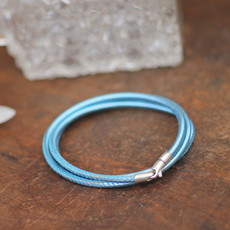 BOHO Tri Aqua Bronte Bracelet