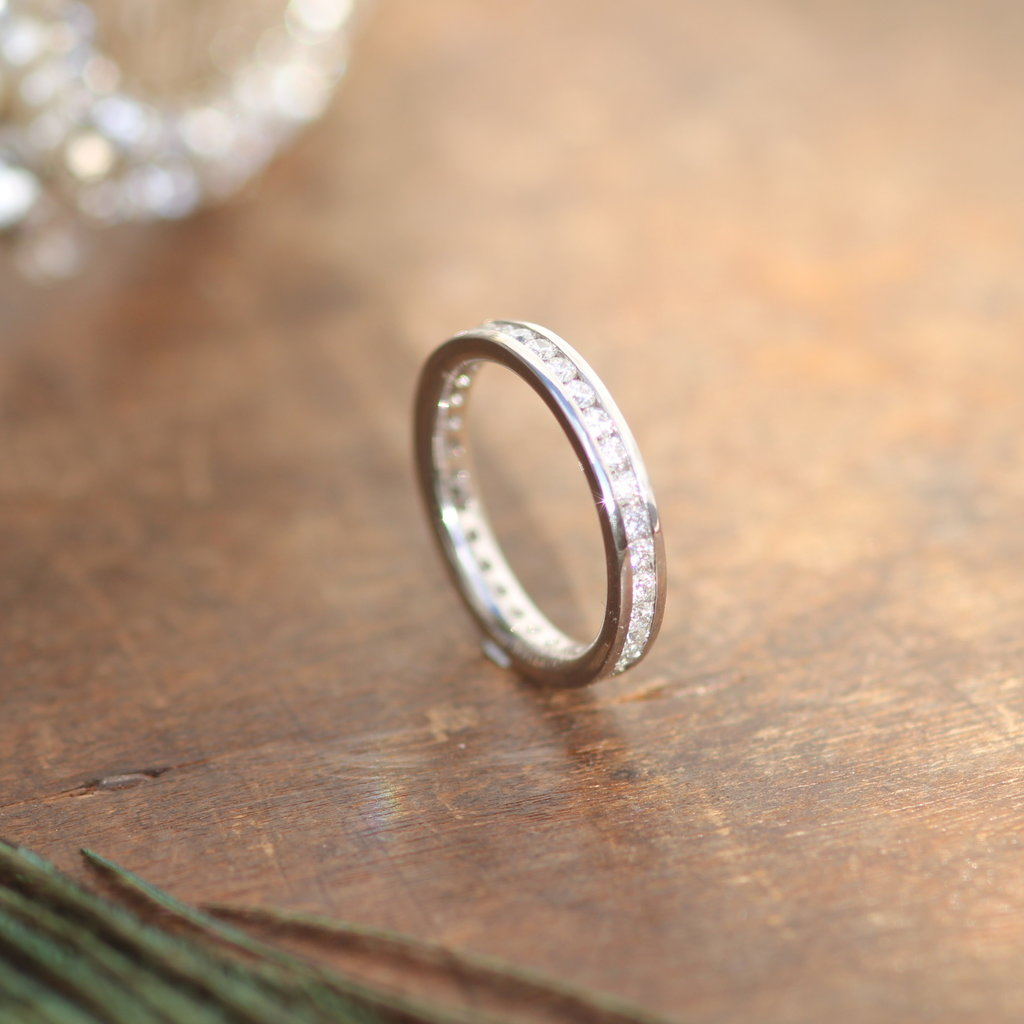 CASSIDY White Gold Victoria Eternity Ring
