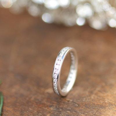 White Gold Victoria Eternity Ring
