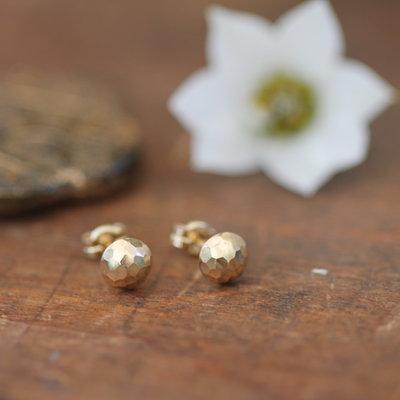 Golden Dazzle Earrings