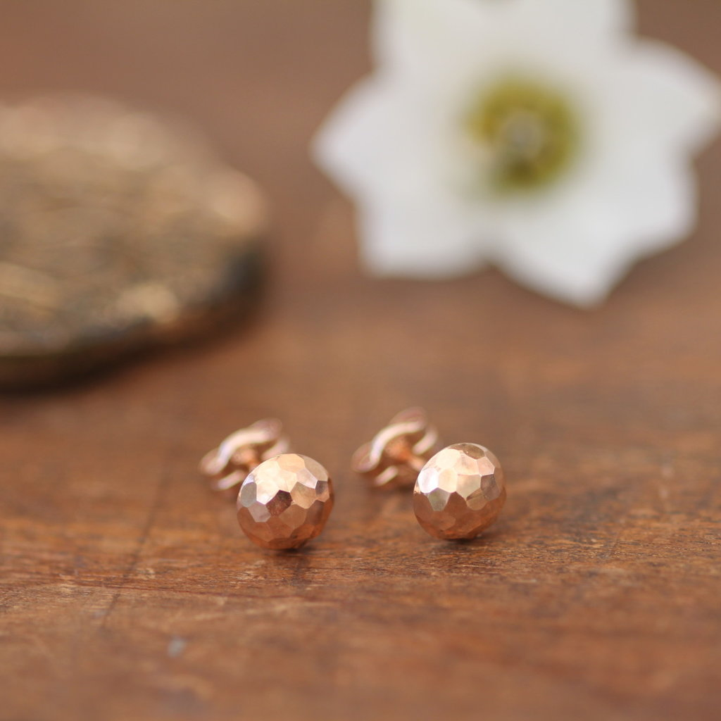 Joulberry Rose Gold Dazzle Earrings