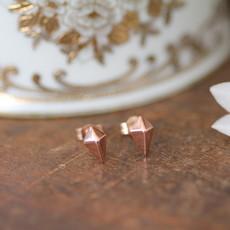Joulberry Rose Gold Kite Earrings