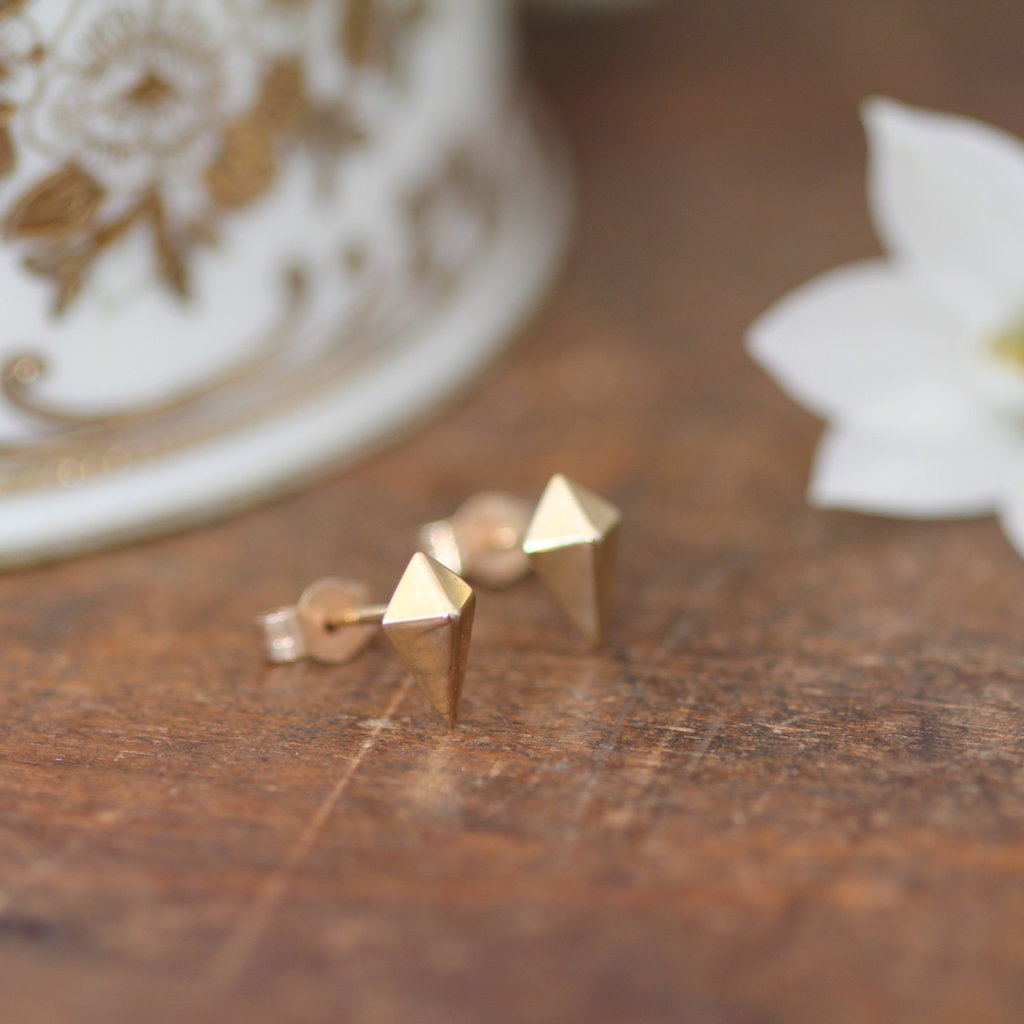 Joulberry Golden Kite Earrings