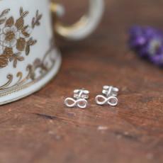MADISON Silver Infinity Earrings