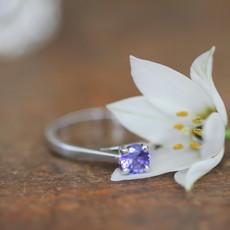DAISY Tanzanite White Gold Ring