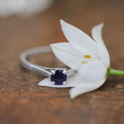 Joulberry Supernova Sapphire Ring