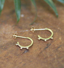 Joulberry Gold Eve Boho Earrings