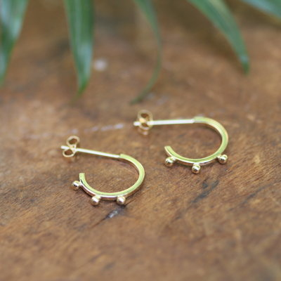 Joulberry Gold Eve Boho Earrings