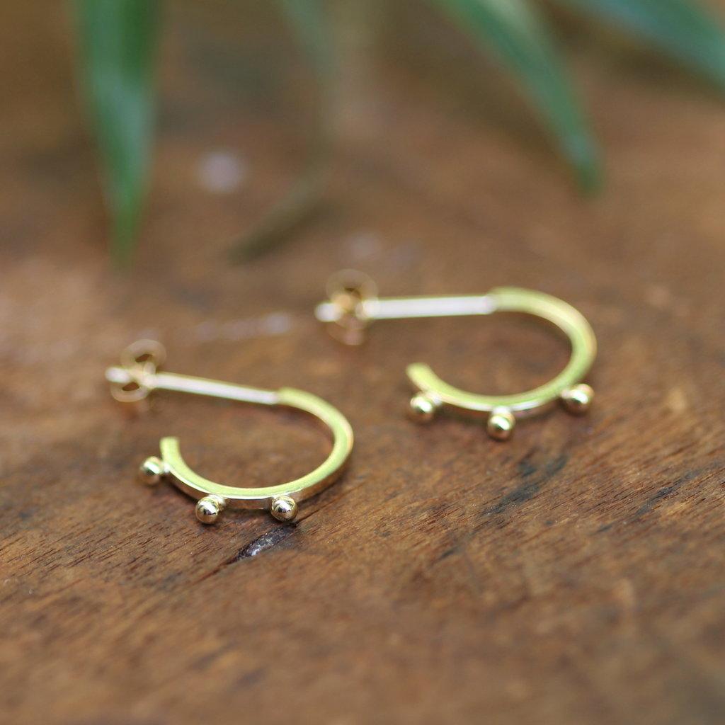 BOHO Gold Eve Earrings