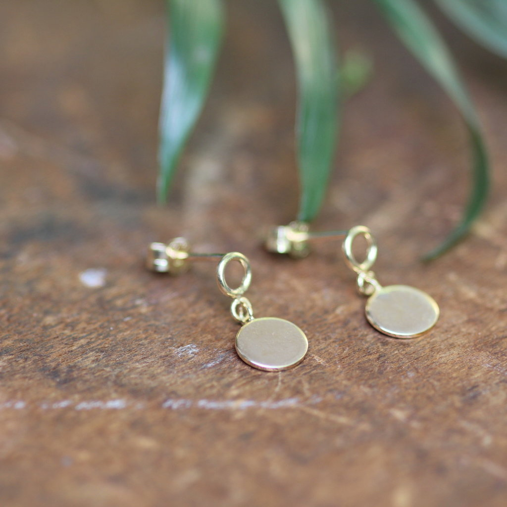 Joulberry Catherine Disc Earrings