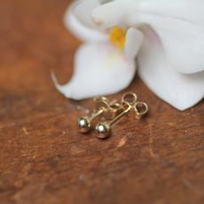 Joulberry Golden Ball Earrings