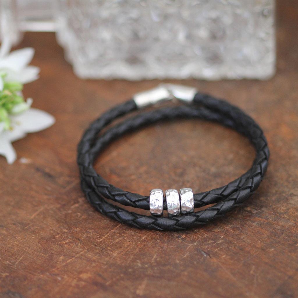 Joulberry Black Luna Bracelet