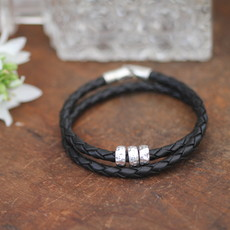 METRO Black Lunia Bracelet