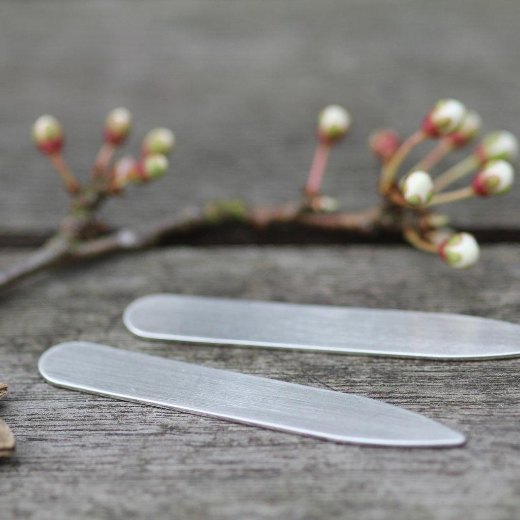 Shadow Silver Collar Stiffeners