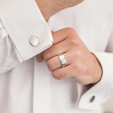 Personalised Pure 8mm Ring