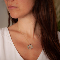 Joulberry Gold and Silver In2you Necklace