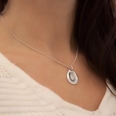 Fingerprint Teardrop Necklace