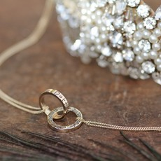 Joulberry Personalised Gold Infinity Necklace