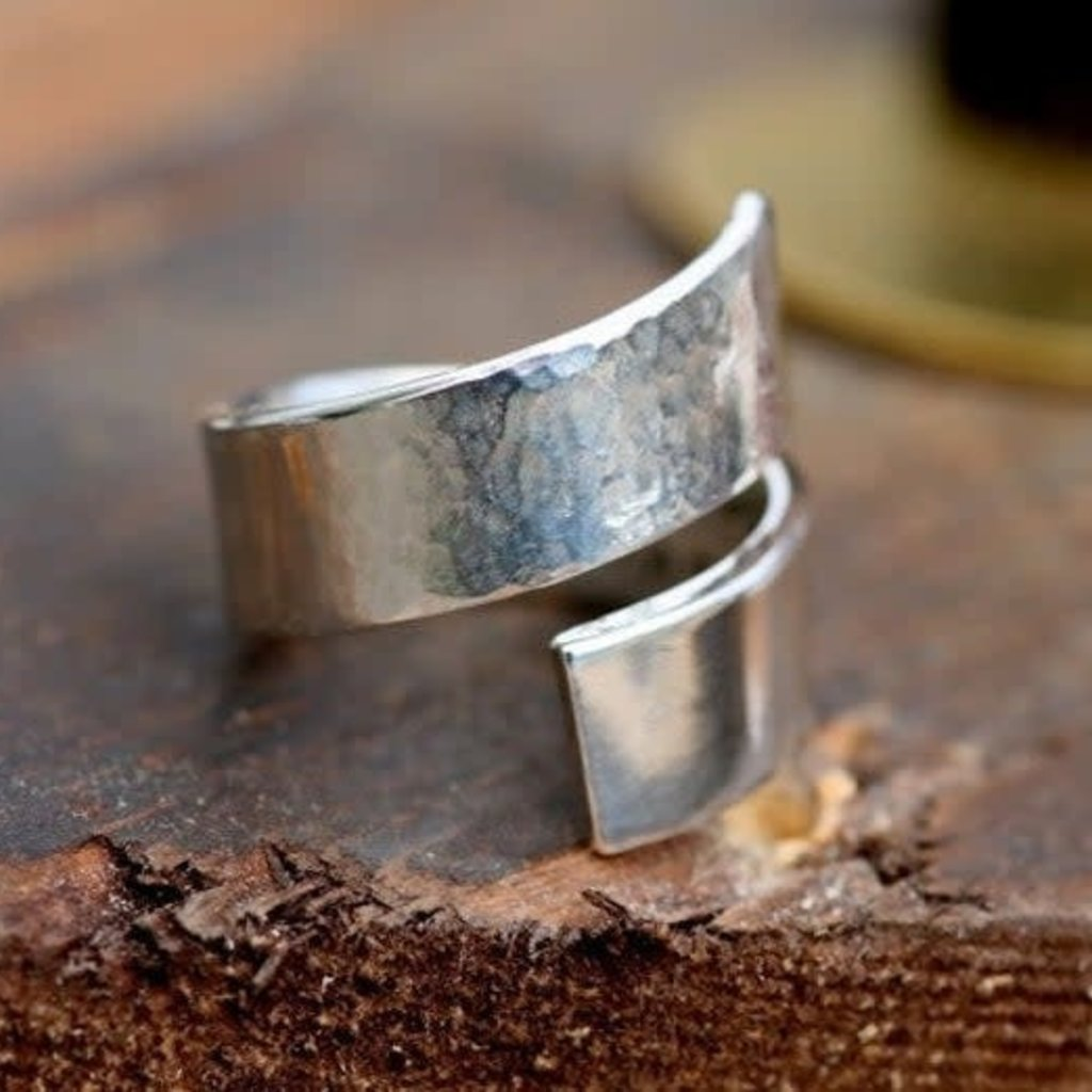 PERSONALISED Twisted Love Ring