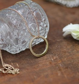 Joulberry Gold Ring of Love Necklace