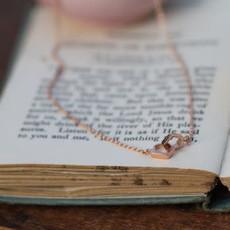 NOVA Rose Gold Infinity Necklace