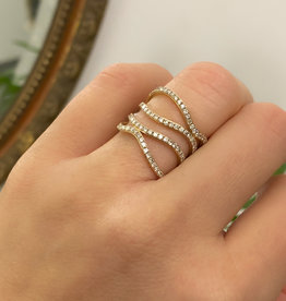 Joulberry Gold Layla Diamond Ring