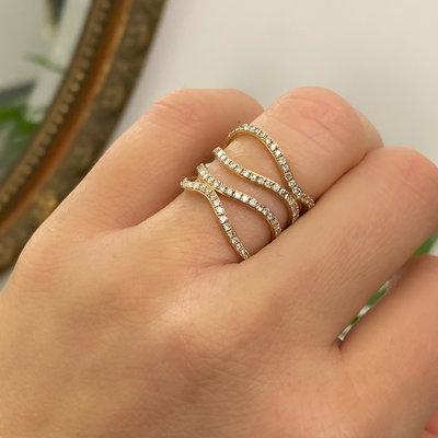 Gold Layla Diamond Ring