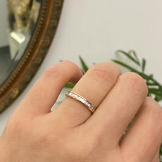 Joulberry Rose Gold Kayleigh Diamond Ring