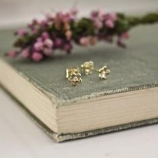 Joulberry Art Deco Flower Earrings