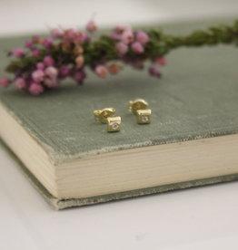 Joulberry Art Deco Cube Earrings