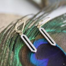 Joulberry Gold Diamond Eleanor Earrings