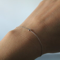 Joulberry White Gold North Star Diamond Bracelet